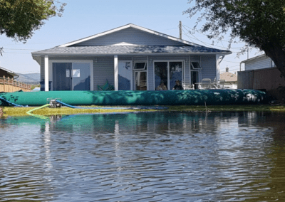 Water protection for house