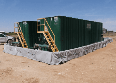 Hydra International secondary containment for environmental protection